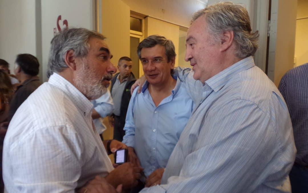Inundaciones: Fernández, en un encuentro regional con el vicegobernador