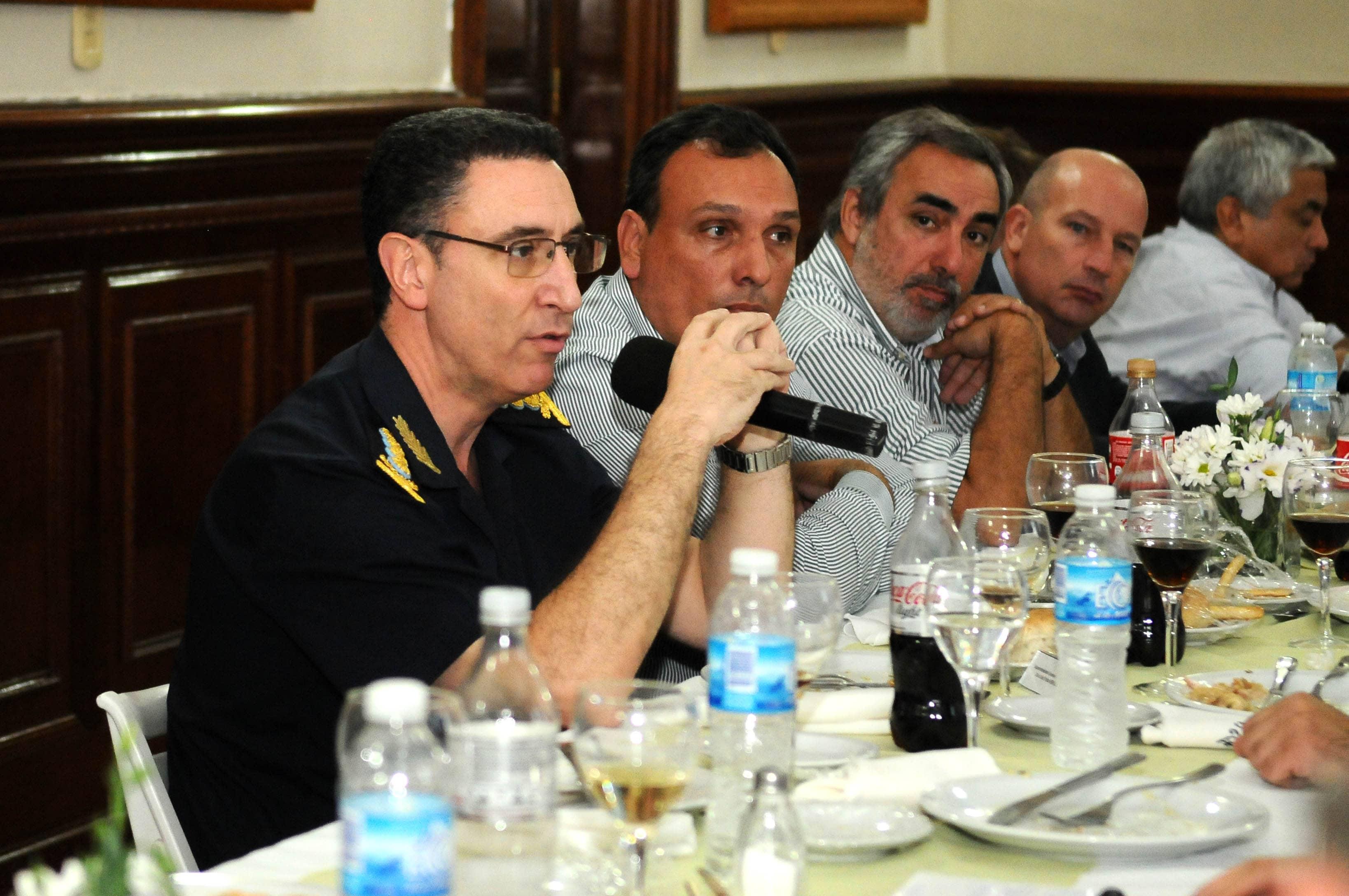El Intendente participó de un encuentro con el Ministro Cristian Ritondo