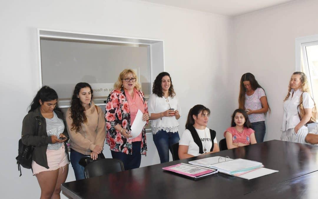 Se realizó una reunión con los residentes de la Casa del Estudiante de La Plata