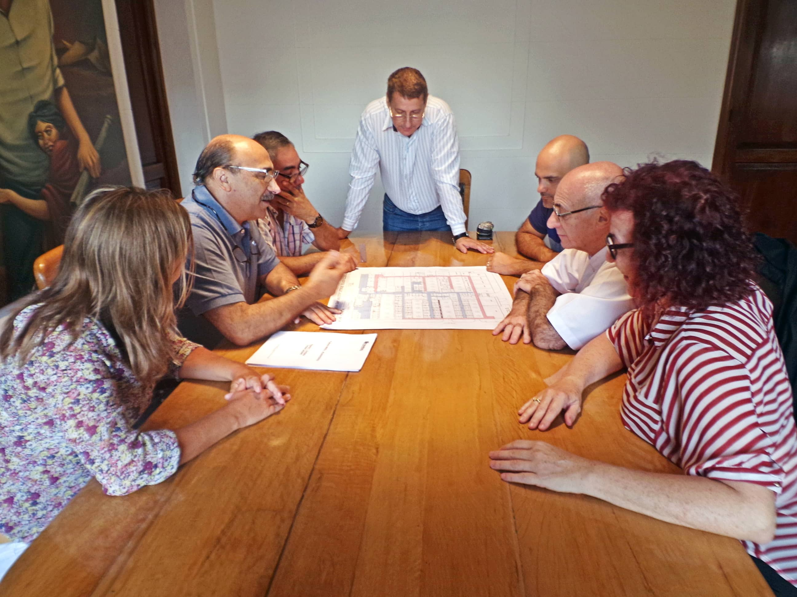 Se presentó el proyecto de remodelación del Hospital Orellana