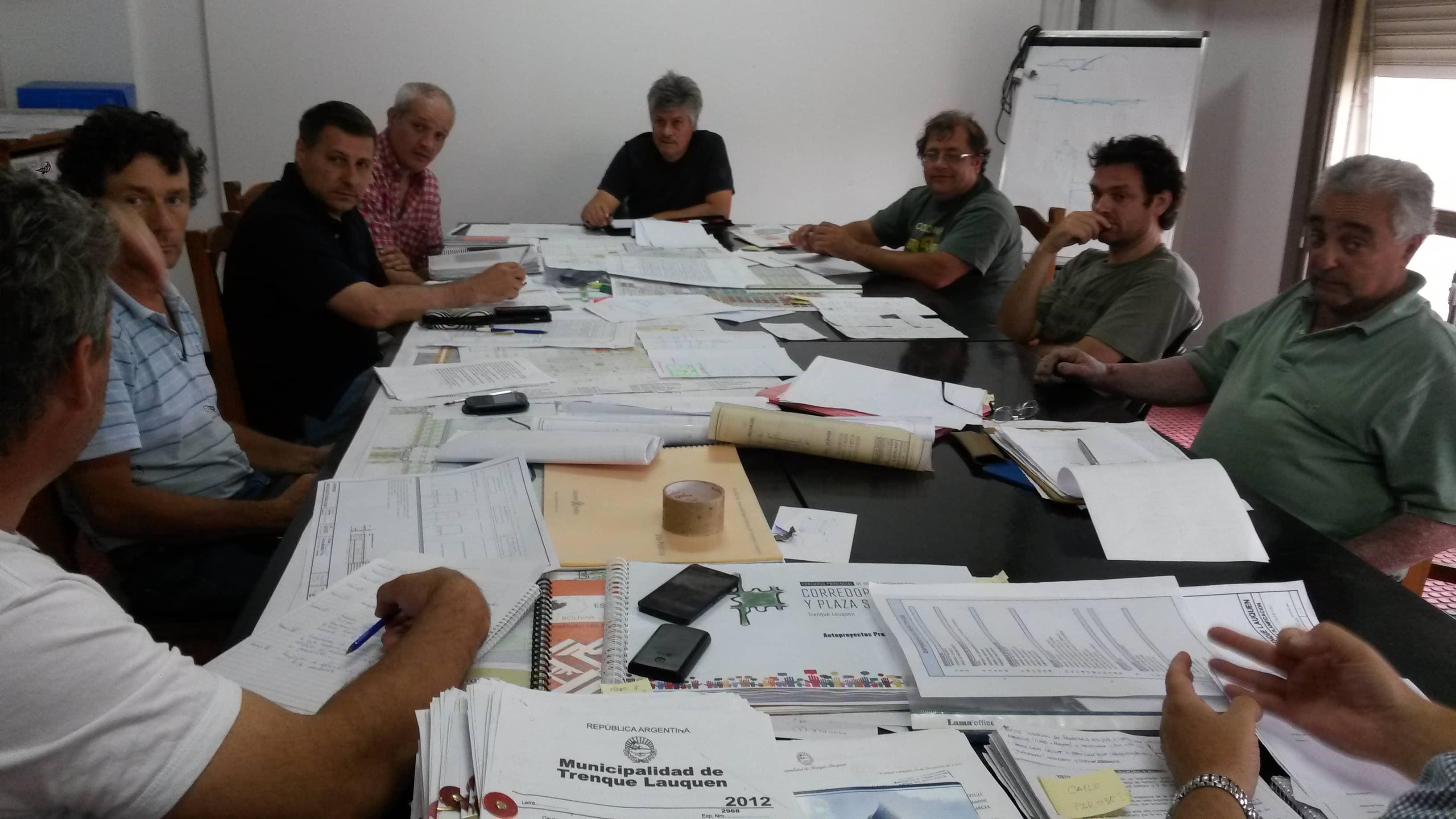 Reunión por Obras y Servicios Públicos
