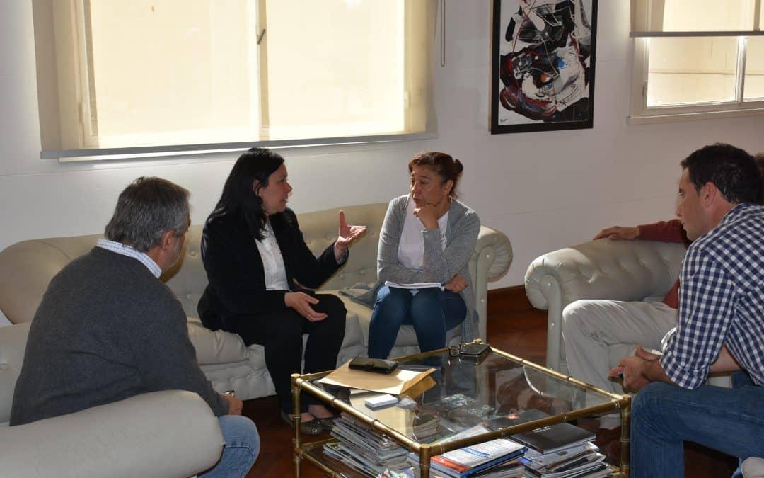 FERNÁNDEZ RECIBIÓ A DIRECTORA DEL PATRONATO DE LIBERADOS