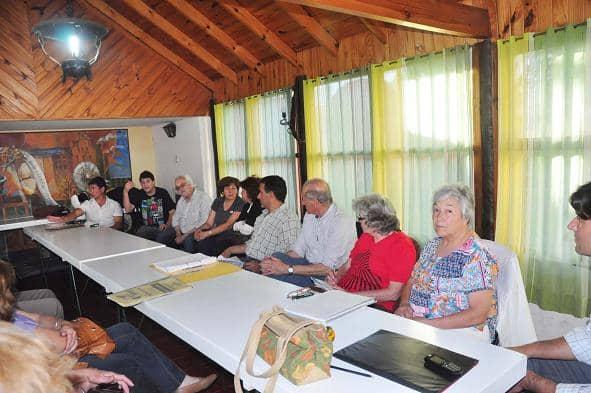 Se reunieron los delegados de los proyectos y funcionarios