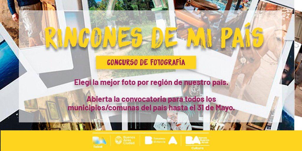 """LANZARON LA CONVOCATORIA PARA PARTICIPAR DE """"RINCONES DE MI PAÍS"""", UN CONCURSO NACIONAL DE FOTOGRAFÍA"""