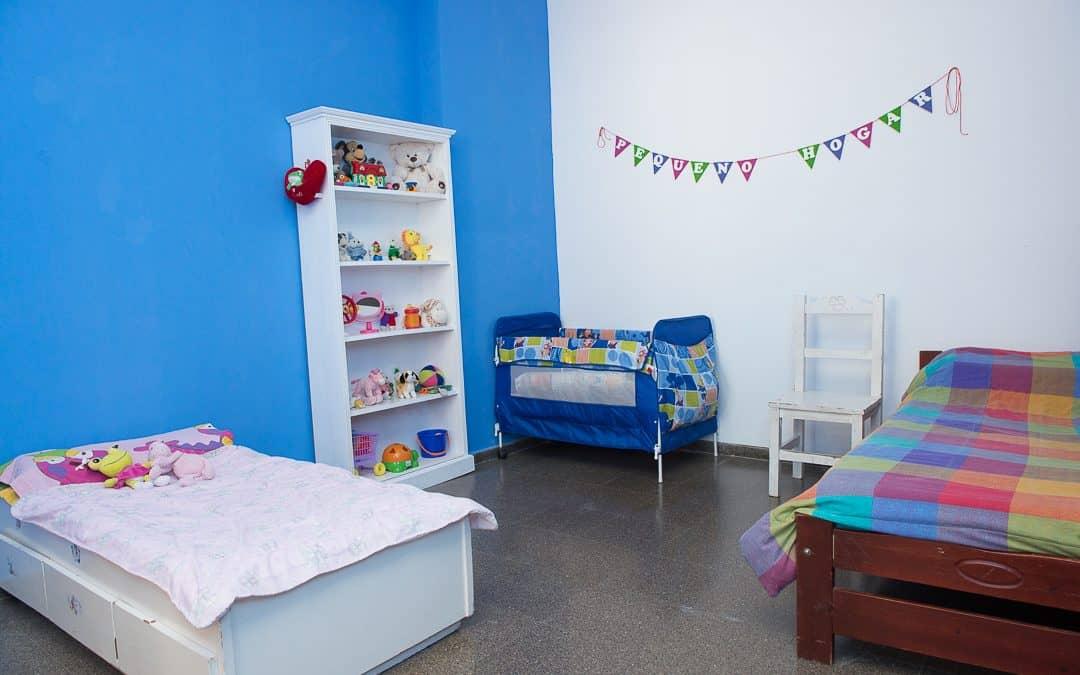 El Municipio adecua una habitación para bebés en el Pequeño Hogar