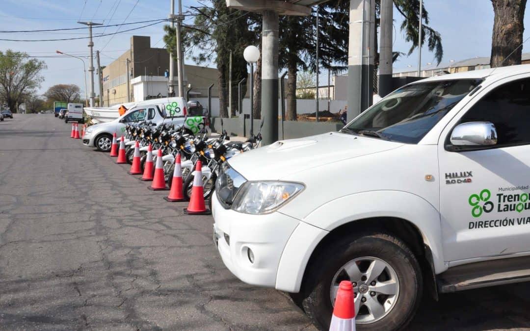 El Municipio presentó equipamiento adquirido con el Fondo de Seguridad