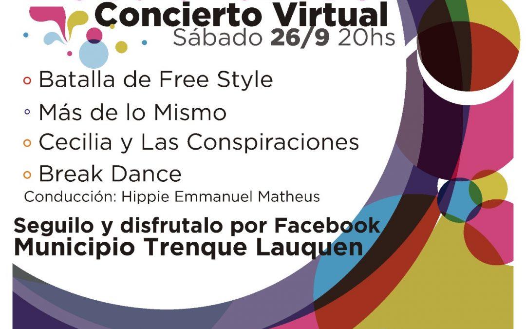 CONCIERTO VIRTUAL CON BANDAS LOCALES, BATALLA DE FREESTYLE Y BREAK DANCE PARA CERRAR MAÑANA (SÁBADO) LA SEMANA DEL ESTUDIANTE