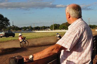 Prueba de pista de Speedway
