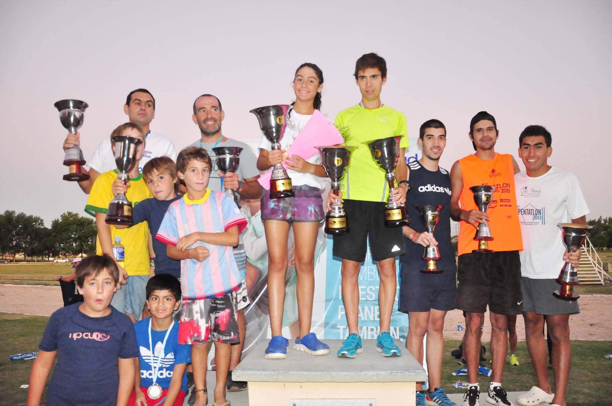 Se realizó la segunda edición del Triatlón individual y por equipos