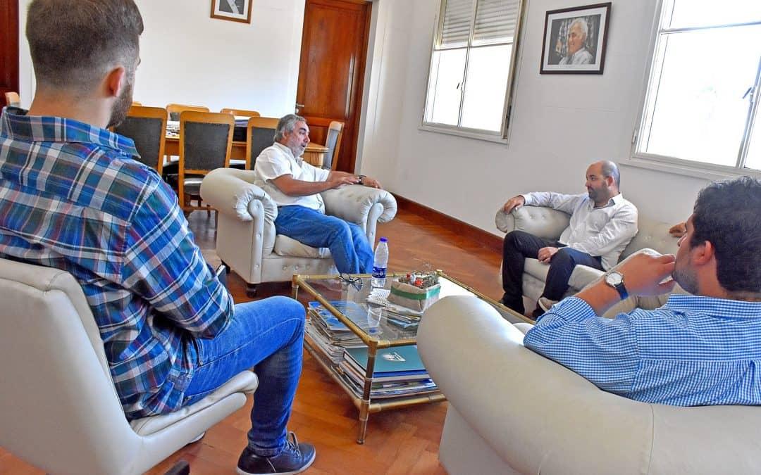 Fernández recibió al Senador de la Provincia Agustín Máspoli