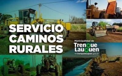CAMINOS RURALES: DONDE ESTAMOS TRABAJANDO