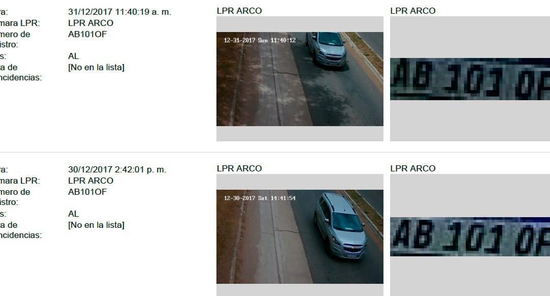 El Municipio instaló un equipo de identificación de patentes de autos con cámaras de seguridad