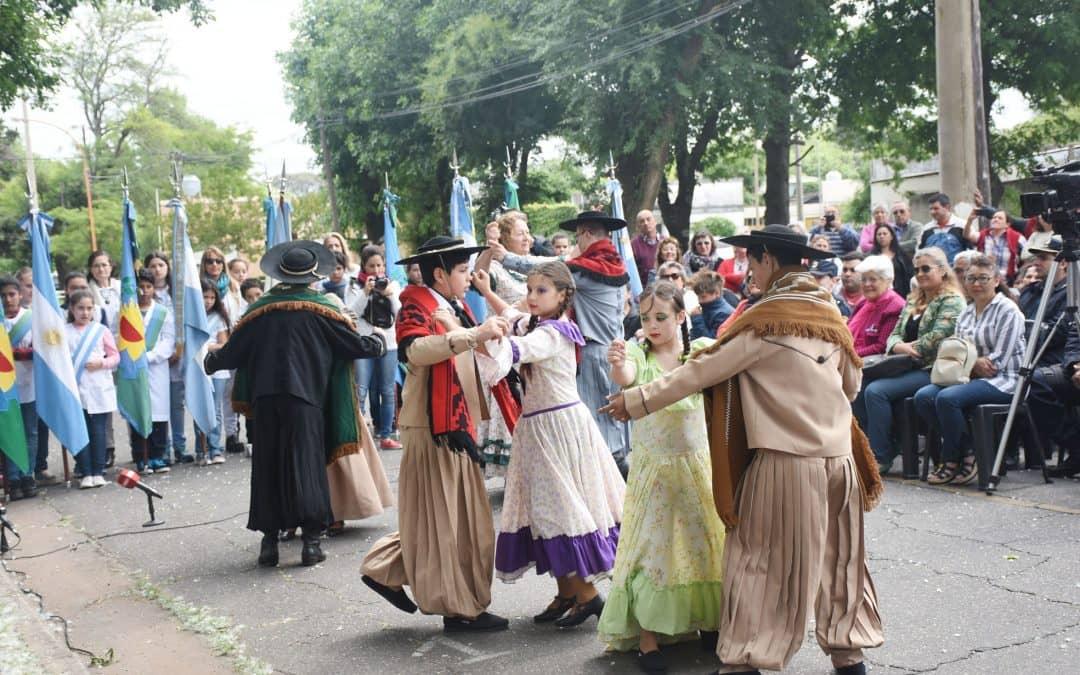 Se realizó ayer (lunes) el acto por el Día de la Soberanía Nacional