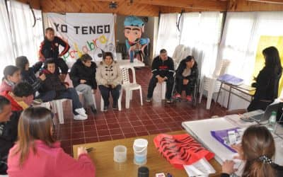 """Defensoría del Público ofreció un taller para los integrantes de """"Yo tengo mi palabra"""""""