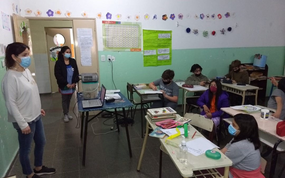 SALUD COMUNITARIA DIO EN EL CENTRO EDUCATIVO COMPLEMENTARIO Nº 801 UN TALLER DE NUTRICIÓN QUE PUSO EL ACENTO EN EL TEMA DE LA CELIAQUÍA