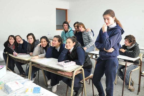 Taller de Educación sexual y reproductiva en el anexo de la Escuela 2