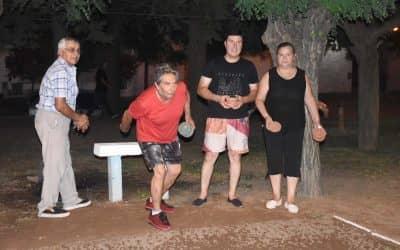 SUAREZ Y RUIZ FUERON LOS GANADORES DEL CAMPEONATO DE TEJO EN LAS OLIMPÍADAS DEL REENCUENTRO Y LA JUVENTUD