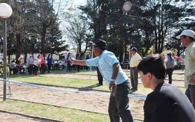 Se disputó un nuevo torneo regional de tejo