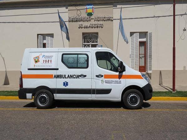 Ambulancia para 30 de Agosto