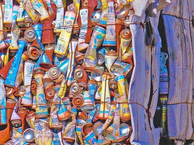 El municipio vendió casi 400 mil pesos en material reciclable