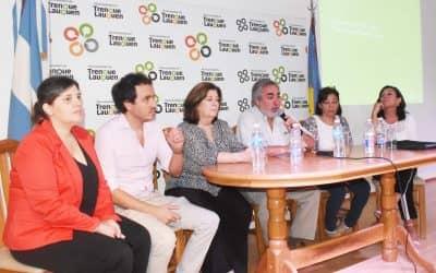 EN EL CENTRO CIVICO Región Sanitaria II realizó hoy (jueves) una capacitación sobre Violencia de género y sexual
