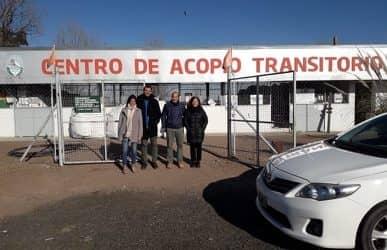 RUFINO QUIERE REPLICAR EL MODELO DEL CENTRO DE ACOPIO TRANSITORIO (CAT) DE TRENQUE LAUQUEN