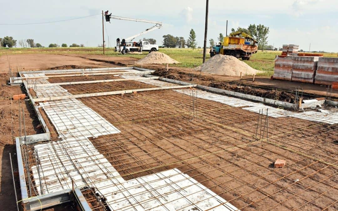 Se inició la construcción de 22 viviendas de Ampliación Urbana