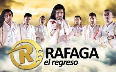 Ya se venden las entradas para el show de Ráfaga