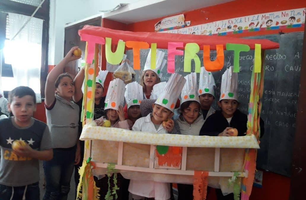 Se realizó un taller de alimentación saludable en al Escuela nº 5