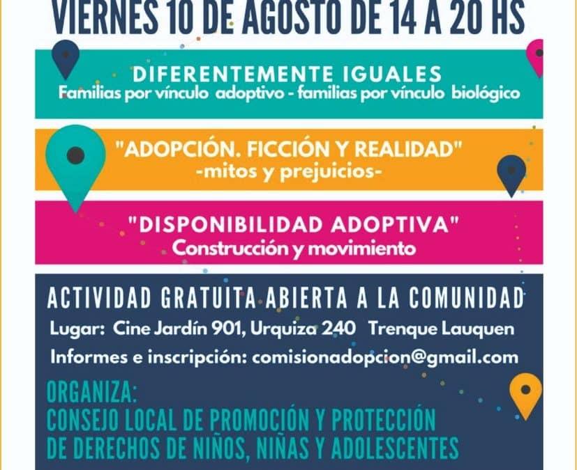 DESDE MAÑANA (VIERNES) SE OFRECERÁ UN CICLO DE TRES CONFERENCIAS SOBRE ADOPCIÓN