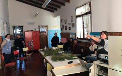 EN LA ESCUELA DE LA ELVIRA SE DESARROLLÓ EL PRIMER ENCUENTRO SOBRE CORTINAS FORESTALES