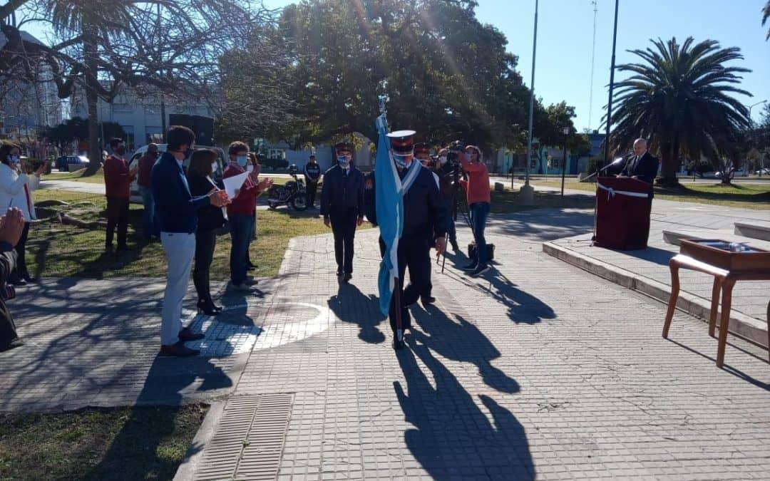 UN SENTIDO HOMENAJE AL GENERAL SAN MARTÍN EN EL ACTO OFICIAL POR EL 170° ANIVERSARIO DE SU FALLECIMIENTO