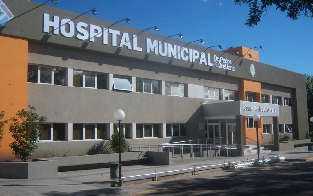 HOY Y MAÑANA SE SIGUEN HACIENDO TEST RÁPIDOS PARA DETECTAR CASOS POSITIVOS DE COVID-19 EN EL HOSPITAL MUNICIPAL DR. PEDRO T. ORELLANA