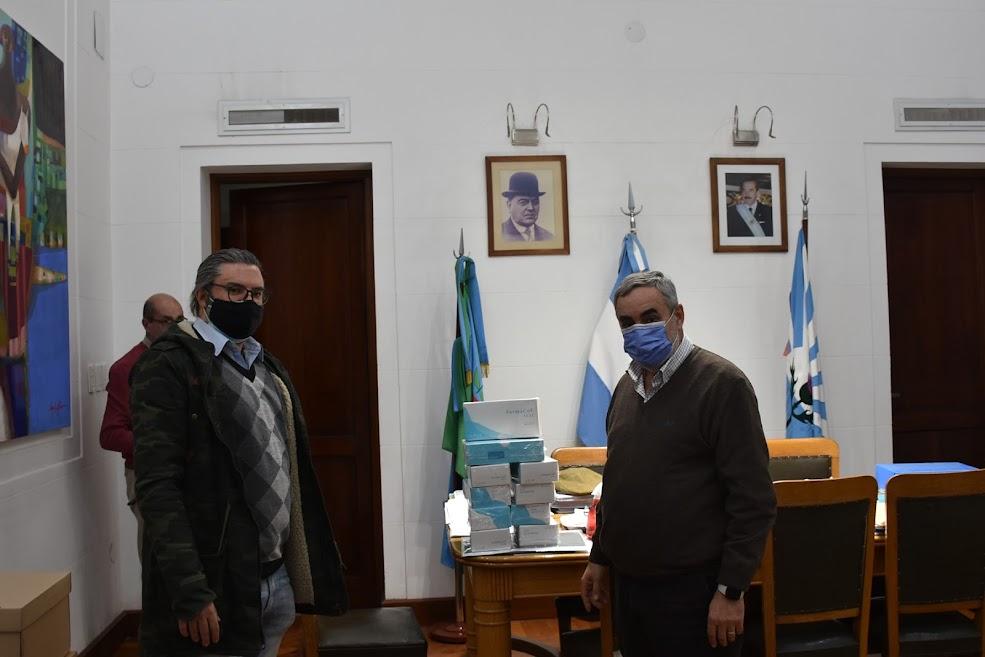 EL MUNICIPO RECIBIÓ 440 TEST RÁPIDOS PARA LA DETECCIÓN DE COVID-19 DESARROLLADOS POR CONICET, INTI Y BAMBOO