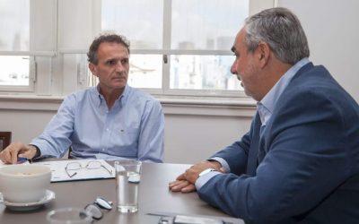FERNÁNDEZ SE REUNIÓ CON KATOPODIS Y AVANZÓ SOBRE PROYECTOS QUE CALIFICAN PARA TENER FINANCIAMIENTO DEL PROGRAMA ARGENTINA HACE