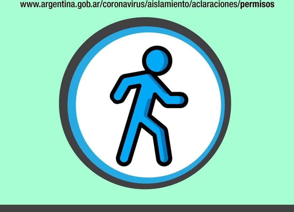DESDE HOY (LUNES) EMPIEZA A REGIR EL PERMISO ÚNICO DE CIRCULACIÓN NACIONAL PARA LAS PERSONAS EXCEPTUADAS POR EL ARTÍCULO 6º DEL DNU