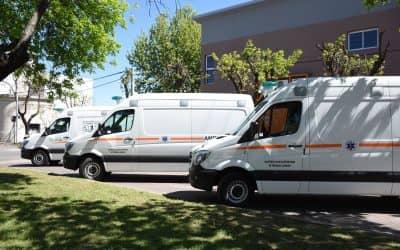 El SAME viene a capacitar a personal del Hospital para poner en marcha el programa de emergencia