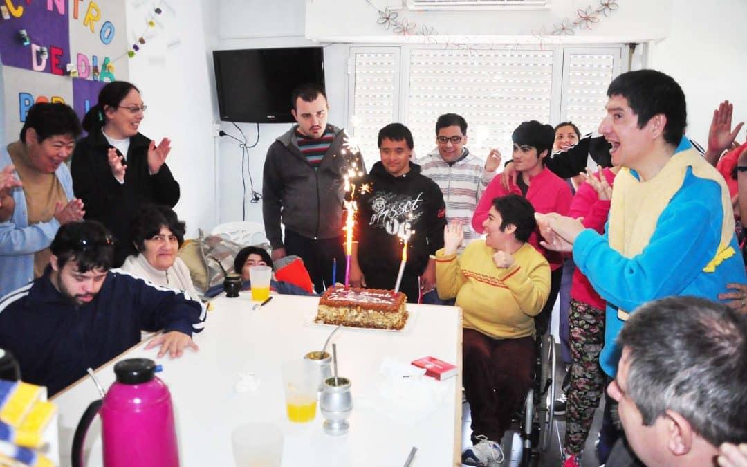 El Centro de Día festejó su cuarto aniversario