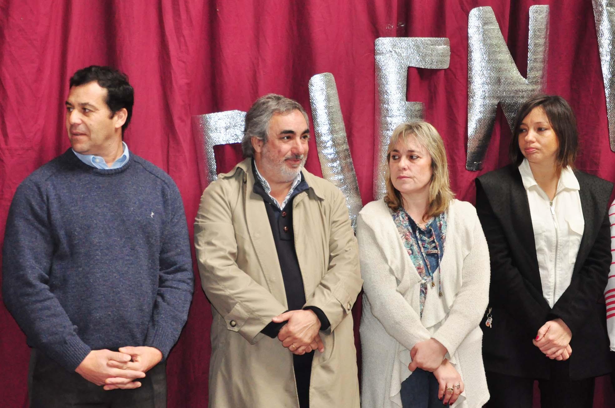 Fernández participó del acto de apertura de la Feria de Ciencias