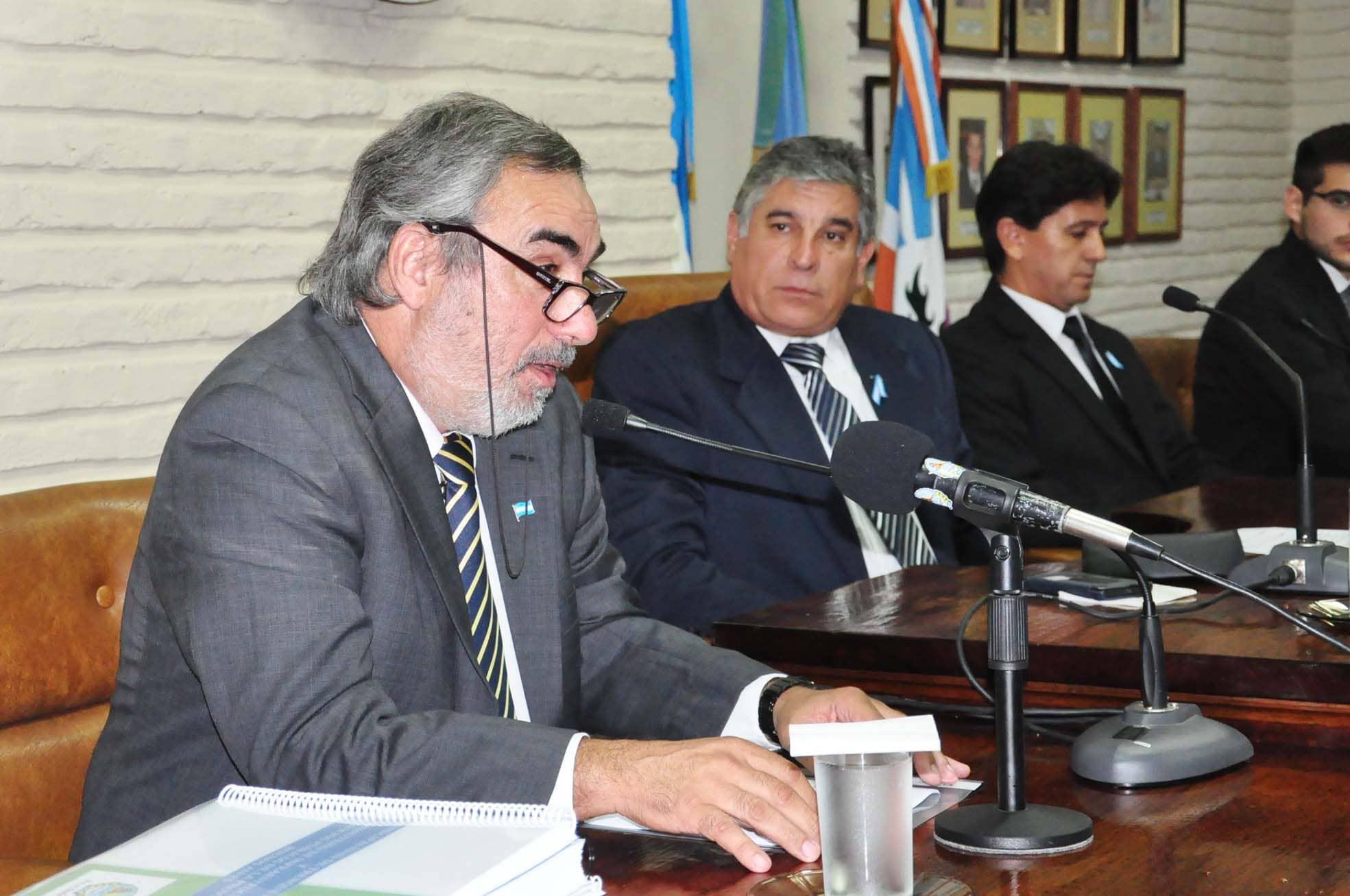 El Intendente abrió las sesiones del Concejo