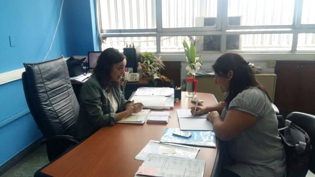 Arias gestionó más becas para Cumen Che y Centro de Día