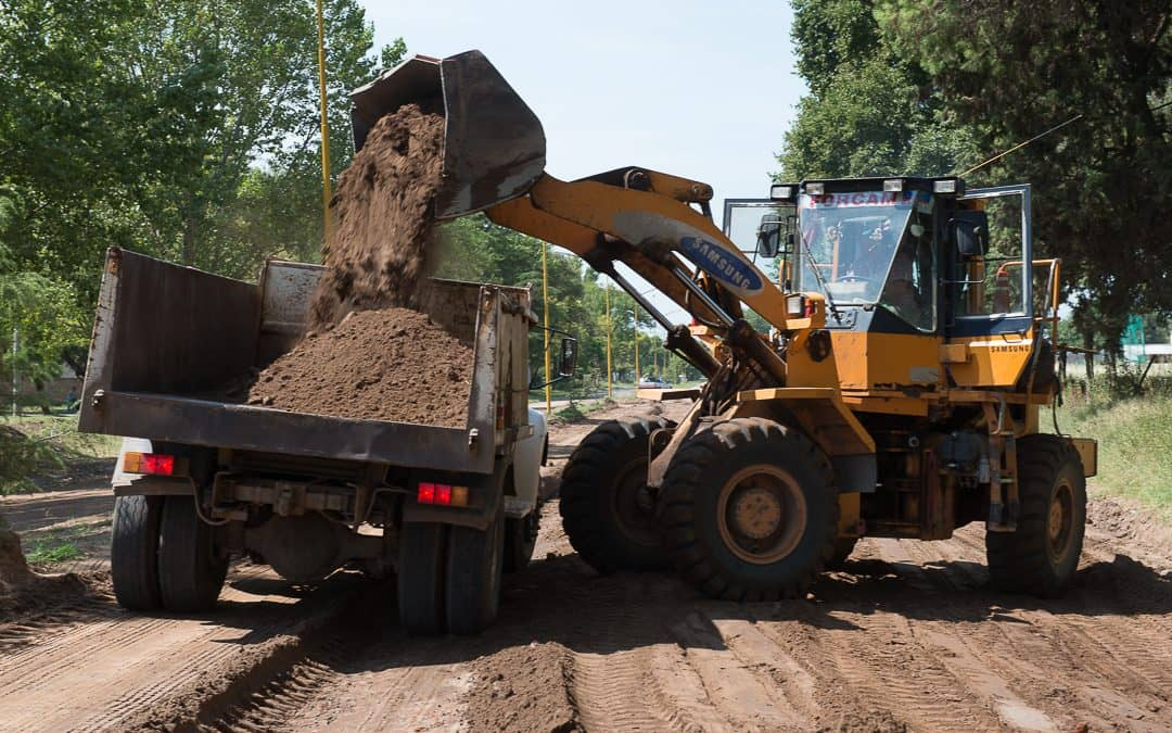 Comenzó la obra de pavimento en la calle Lagos