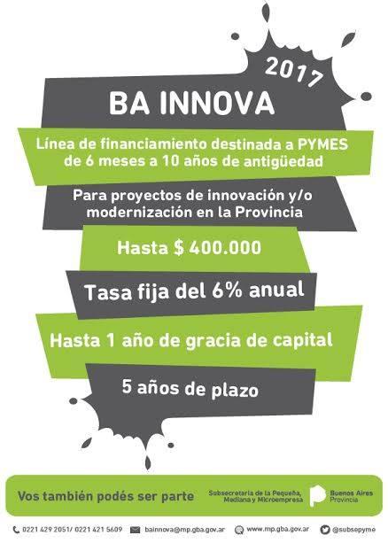 Lanzan una nueva edición del concurso BA Innova