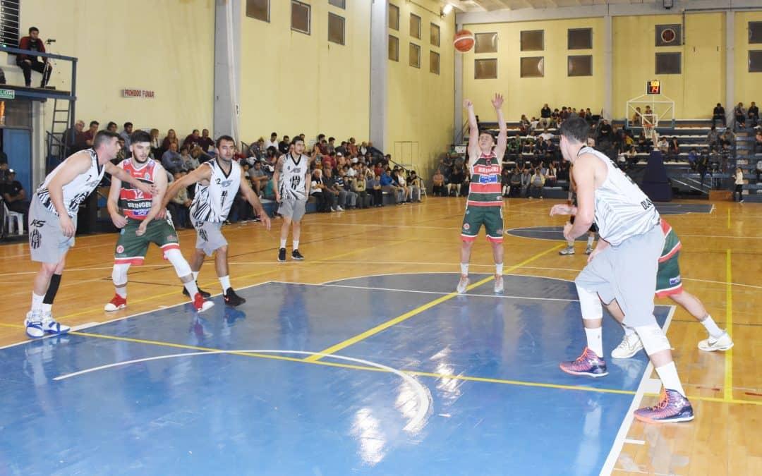 Más de 600 personas presenciaron el partido de básquet profesional