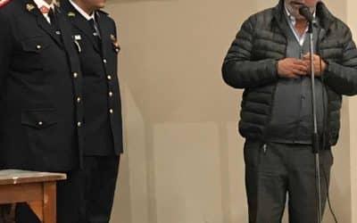 FERNÁNDEZ PARTICIPÓ DEL ACTO EN BERUTTI POR EL DÍA DEL BOMBERO VOLUNTARIO