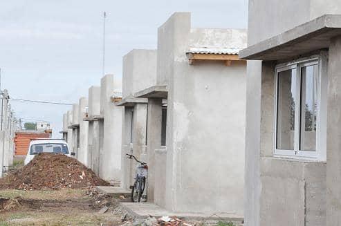 Avance en la construcción de viviendas