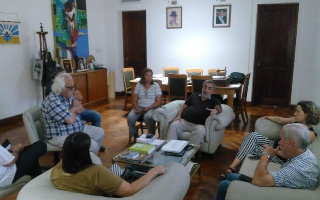 EL MUNICIPIO REALIZARÁ TRABAJOS EN LA CASA DEL ESTUDIANTE DE BUENOS AIRES POR 4 MILLONES DE PESOS