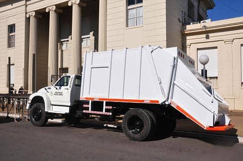 Se recuperó un camión recolector