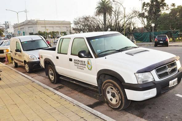 Se recuperó una camioneta Ford Ranger