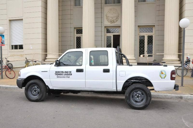 Recuperan una camioneta Ranger 2005